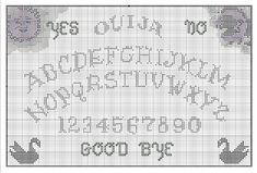 Ouija needlepoint printable