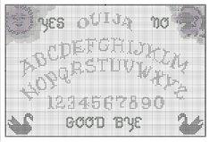 Ouija needlepoint printable