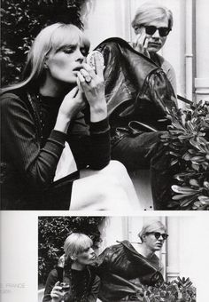 Nico and Andy Warhol - I named my adorable cats after these two. Turns out Andy was an Andi!