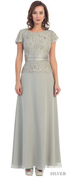 MOTHER OF BRIDE DRESSES FORMAL EVENING GOWN + PLUS SIZE #Dress