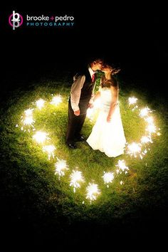 Love the sparklers in this picture