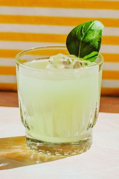 The classic Gimlet cocktail gets a fresh-produce boost. Learn how to make the Cucumber, Basil & Lime Gimlet. Cocktails To Try, Vodka Cocktails, Martinis, Summer Cocktails, Cocktail Drinks, Effen Cucumber Vodka, Cucumber Gimlet, Fruit Drinks, Party Drinks