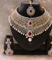 Buy Design no. 12.1786....Rs. 28950 necklace-set online