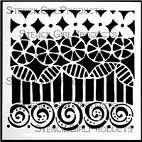 stencils | 6 x6 | StencilGirl Products
