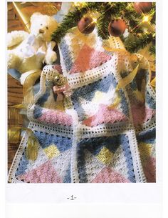Baby afghan pattern page 1