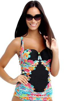 bec93e210a Seafolly Kimono Rose DD Cup Balconette Tankini Seafolly Australia, Swimwear  Australia, Beachwear Fashion,