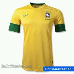 c031f91ee Nike Brazil Home Jersey 12 13 www.soccerstop.com Team T Shirts