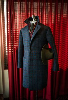 Harris Tweed Coat? Oh, go on then...
