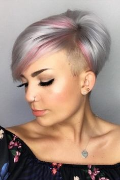 Fabulous Asymmetrical Pixie Cuts Difficult To Resist ★ See more: http://lovehairstyles.com/asymmetrical-pixie-cuts/