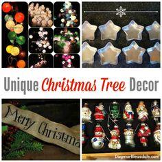 Unique Christmas Tree Decor. #eBay #spon #eBayguides #Christmas #Christmastree #ornaments #vintage #burlap #holidays #DIY