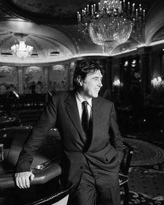 Bryan Ferry at Cafe de Paris, smiling — John Stoddart