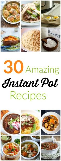 Got a new Instant Pot? Discover popular Instant Pot recipes you can make in your pressure cooker for fast, healthy, and tasty family meals. Pressure Cooking Recipes, Slow Cooker Recipes, Instant Pressure Cooker, Baked Chicken With Mayo, Instant Recipes, One Pot Meals, Sin Gluten, The Fresh, Roast