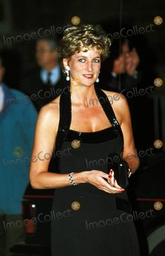 C/n 017440 Princess Diana in Paris at the Palace of Versailles 11-28-1994 Photo by Dave Chancellor-alpha-Globe Photos
