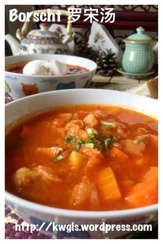 Red Vegetable Soup? -Russian Borscht Soup, Chinese Luo Song Tang (罗宋汤)#guaishushu #kenneth_goh   #borscht #罗宋汤