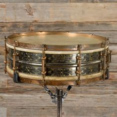 Ludwig 5x15 Black Beauty Snare Drum 1920s