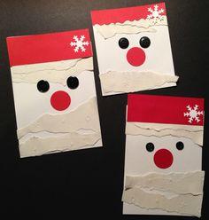 cartes Père Noël Gingkascrap