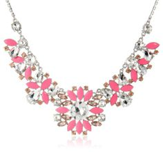 "Amazon.com: kate spade new york ""Frosty Floral"" Short Necklace, 18"": Jewelry"