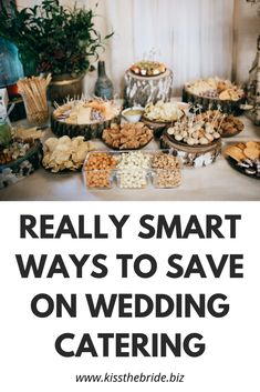 How to do wedding catering on a budget - 8 ways ~ KISS THE BRIDE MAGAZINE - - How to do wedding catering on a budget can be a bit of a challenge but with these fantastic ideas, feeding your guests will be a breeze. Wedding Planning On A Budget, Event Planning Tips, Budget Wedding, Budget Bride, Unique Wedding Food, Wedding Costs, Wedding Advice, Plan Your Wedding, Wedding Ideas