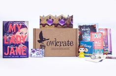 <p>A monthly subscription box for book lovers! Each box contains a new YA novel and goodies!</p>