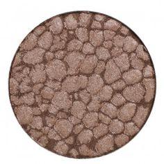 Idun Minerals single eyeshadow: BRUNKLÖVER - beautiful bronze.  #eyeshadow #mineralmakeup #idunminerals #minerals