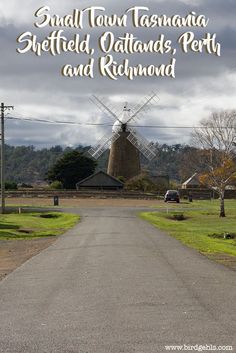 It's the smaller towns of Tasmania, Australia that tend to hold the greatest of delights. Here's what you can expect to find in Sheffield, Richmond and Oatlands.
