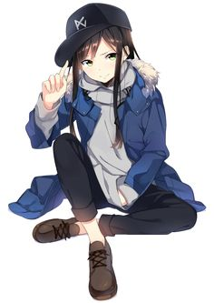 Cute Drawings Of Love Kawaii Manga Kawaii, Chica Anime Manga, Kawaii Anime Girl, Anime Chibi, Cool Anime Girl, Beautiful Anime Girl, Anime Art Girl, Anime Girls, Anime Outfits
