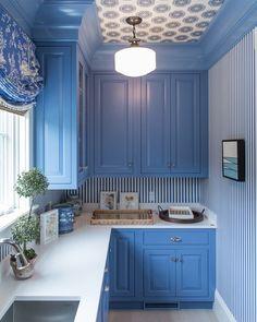 Decorating with Blue & White: Coastal Living Idea House