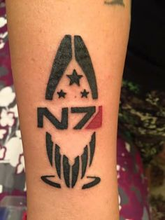N7 Aliance Spectre tattoo