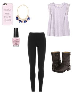 Life is Sweet by balletlover11 on Polyvore featuring polyvore, Rebecca Taylor, DKNY, Frye, Stella & Dot, Casetify, OPI, fashion, style and clothing