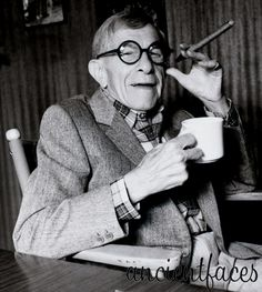 Comedian George Burns at 100