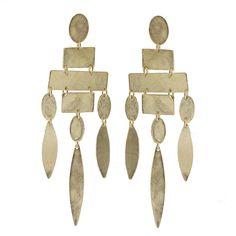 Brass Jewelry, Clay Jewelry, Fine Jewelry, Jewellery, Jewelry Logo, Jewelry Shop, Minimalist Earrings, Minimalist Jewelry, Gold Bar Earrings