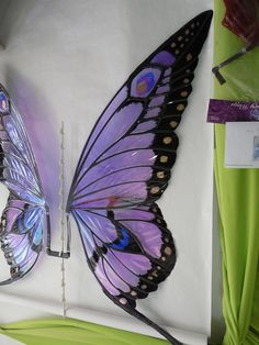 Giant Butterfly wings comissioned for Children's Delight Entertainment Giant Butterfly, Butterfly Fairy, Wings Drawing, Flower Costume, Diy Wings, Accel World, Kawaii Jewelry, Butterfly Decorations, Monster High Dolls