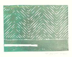 linocut nature pattern