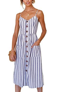 Angashion Women's Dresses-Summer Floral Bohemian Spaghett... https://www.amazon.com/dp/B07BWCRSZK/ref=cm_sw_r_pi_dp_U_x_pDp3Ab9GQY5BX