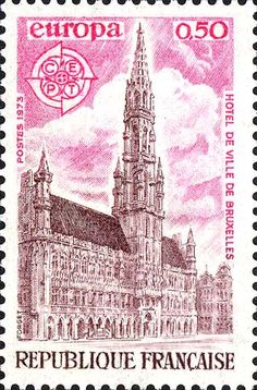french stamp 1973