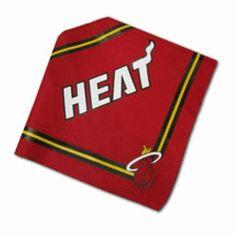 Miami Heat Dog Bandana#petlover#dogaccessories#dogdiy