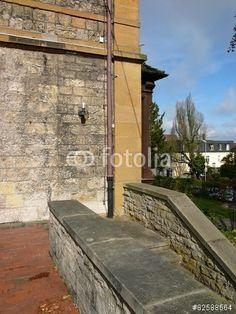 Treppenaufgang zum Standesamt in Oerlinghausen im Teutoburger Wald bei Detmold im Kreis Lippe