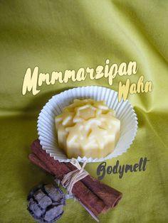 Marzipan mal ganz kalorienfrei genießen und sich hinterher wie ein Celebrity fühlen ist ganz einfach mit dem tollen Bodymelt mit pflegendem Pflaumenkernöl
