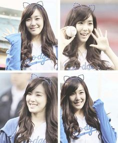 Cat ears :P #SNSD #Tiffany