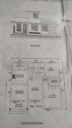 2bhk House Plan, House Plans Mansion, Model House Plan, Open Floor House Plans, Narrow Lot House Plans, House Layout Plans, Duplex House Plans, Family House Plans, House Floor Design