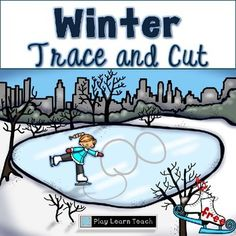 Winter activities Fine motor Free No Prep  Winter Trace and Cut No Prep Freebie is a sampling of a larger item, Winter Activities Trace and Cut.   Early learners trace or cut a variety of lines to improve their fine motor skills.  Included are 8 lines to trace; 8 lines to cut; and numerals 0 through 9 to trace. See the examples in the thumbnails above.