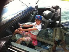 Le dimanche quand il fait beau je prends la Maserati...