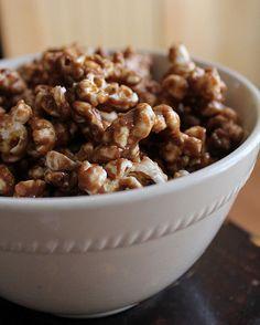 Peanut Butter Nutella Popcorn by jasnicmommy, via Flickr