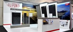 DuPont attractively and professionally represented at the Solar Africa Show Exhibition Stands, Solar, Africa, Display Shelves, Afro