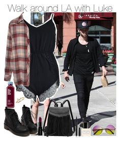 """""""Walk around LA with Lukey"""" by romii5sos ❤ liked on Polyvore featuring Smashbox and Marc Jacobs"""