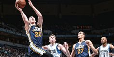 Jazz Hit the Road to Face T-Wolves #sport