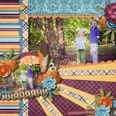 Layout by Nikki: A Grateful Heart by Meghan Mullens and Studio Flergs Cindy's Layered Templates - Half Pack 88: Photo Focus 35 by Cindy Schneider