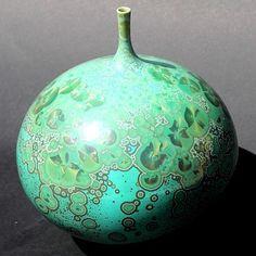 Ceramics by John Stroomer at Studiopottery.co.uk - 2015. Bottle