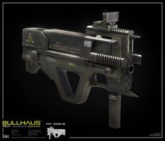 Bullhaus 12g shotgun scifi gun