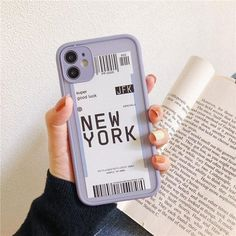 City Boarding Pass iPhone Case - Gray / For iPhone 7